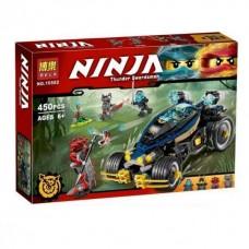 Конструктор  для мальчиков Bela Ninja Самурай VXL Ninjago 450 деталей арт. 10582 43820-06 lvt-10582
