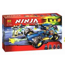 Конструктор для мальчиков с 4 мини-фигурками Ninja Шагоход Джея 387 деталей арт. 10396 43270-06 lvt-10396