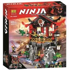 Конструктор с 7 мини-фигурками  для мальчика Ninja Храм воскресения 809 деталей арт. 10806 43317-06 lvt-10806
