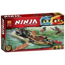 Конструктор  для мальчиков Bela Ninja Тень судьбы 378 детали арт. 10581 43819-06 lvt-10581