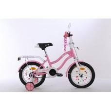 """Велосипед детский 2-х колесный Profi (12"""") с доп. колесами, от 5-6 лет, свет, звонок, зеркала арт. XD1291*"""