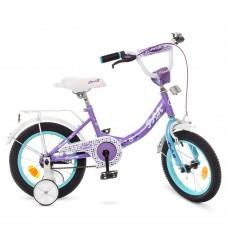 """Велосипед детский 2-х колесный Profi (14"""") с доп. колесами, от 5-6 лет, звонок, зеркало, катафоты арт. Y1415*"""