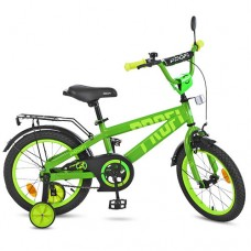 """Велосипед детский 2-х колесный Profi (14"""") с доп. колесами, от 5-6 лет, звонок, катафоты, зеркало арт. T14173*"""