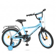 """Велосипед детский 2-х колесный Profi (18"""") от 6 лет, доп. колеса, звонок, мягкие рулевые накладки арт. Y18104*"""