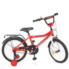 """Велосипед детский 2-х колесный Profi (18"""") от 6 лет, доп. колеса, звонок, мягкие рулевые накладки арт. Y18105*"""