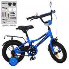 """Велосипед детский 2-х колесный Profi (12"""") с доп. колесами, 5-6 лет, мягкие рулевые накладки арт. Y12223*"""