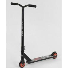 Самокат трюковый для детей и взрослых, руль 82 см, макс нагрузка 80 кг, колеса 10 см Best Scooter арт. 70329