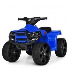 Дитячий Квадроцикл-електромобіль Bambi Racer, з музикою, фарами, що світяться, до 20 кг, 67х41х43 см, синій