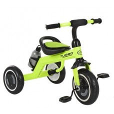 Детский Трехколесный Велосипед для детей Гномик стальная рама, колеса EVA, Turbotrike салатовый арт. 3648M2