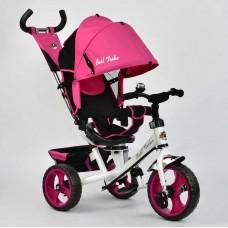 Велосипед детский 3-х колёсный для улицы (поворотное сиденье, колеса пена), ТМ Best Trike, розовый  арт. 6570