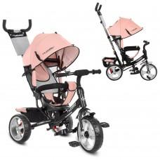 Велосипед детский 3-х колёсный (колеса EVA) с вместительной корзиной, Best Trike, розового цвета арт. 3113L-10