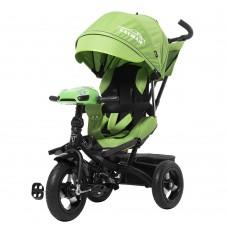 Велосипед Трехколесный с усиленной рамой, надувными колесами 10-12 дюймов и родительской ручкой - Tilly Cayman*