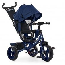 Детский Трехколесный Велосипед, съемная родительская ручка 94-100 см, руль 59-64 см, TurboTrike арт. 3113-11L*
