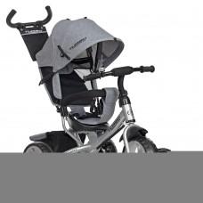 Детский Трехколесный Велосипед, съемная родительская ручка 94-100 см, руль 59-64 см, TurboTrike арт. 3113-19L*