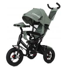 Велосипед Трехколесный с надувными колесами 10-12 дюймов, регулировка положения сиденья - Tilly Camaro бирюза*