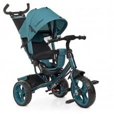 Детский Трехколесный Велосипед, съемная родительская ручка 94-100 см, руль 59-64 см, TurboTrike арт. 3113-21L*