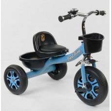 """Детский велосипед """"Гномик"""" трехколесный BestTrike (голубой) арт. 4405"""