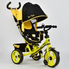 *Велосипед детский 3-х колёсный (поворотное сиденье, колеса пена), ТМ Best Trike, желтого цвета арт. 5700 - 4890
