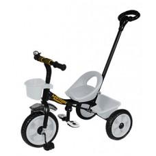 Детский Трехколесный Велосипед Гномик стальная рама, колеса EVA, родительская ручка, Motion СЕРЫЙ арт. 320
