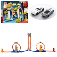 Детский Игровой Набор для Мальчиков Гибкий Автотрек с 2 машинками, петля 360°, размер 157х86х65 см, арт. 8847