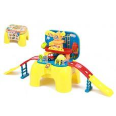 """Игровой набор Автотрек для малышей """"Стройплощадка"""" размер трека: 87-26-39 см арт. 008-805"""