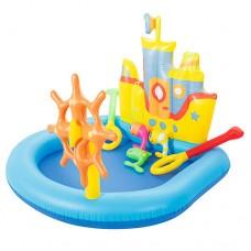 """Детский игровой центр """"Корабль"""" с бассейном и аксессуарами, ТМ Bestway, размер центра 190-140-96 см арт. 52211"""