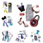 Одежда для кукол Монстер Хай - Monster High Fashion Pack