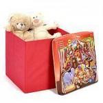 Пуфы, корзины для игрушек