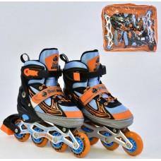 *Ролики Best Rollers арт. 25502 /размер L 38-41/ колёса PU 59350-06 lvt-25502