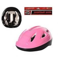 Детский защитный шлем РОЗОВЫЙ арт. 0013