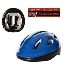Детский защитный средний шлем с регулируемым ремешком, 7 вентиляционных отверстий, синего цвета арт. 0013 44127-06 lvt-0013blue