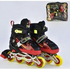 Ролики Best Rollers арт. 25499 /размер L 38-41/ колёса PU 59349-06 lvt-25499