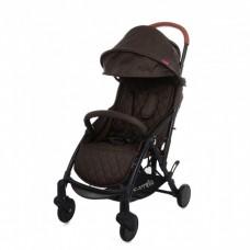 """*Детская прогулочная коляска с дождевиком и сумкой (тип """"Yoya"""") от ТМ Carello Pilot, Hazel Brown CRL-1418"""