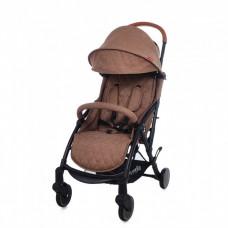 """*Детская прогулочная коляска с дождевиком и сумкой (тип """"Yoya"""") от ТМ Carello Pilot, Desert Beige CRL-1418"""