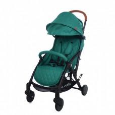 """*Детская прогулочная коляска с дождевиком и сумкой (тип """"Yoya"""") от ТМ Carello Pilot, Jade Green CRL-1418"""