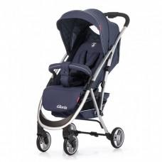 *Детская прогулочная коляска с корзиной (+подстаканник,чехол), модель Carrello Gloria, цвет Victoria Blue CRL-8506