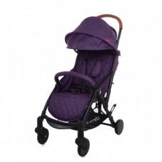 """*Детская прогулочная коляска с дождевиком и сумкой (тип """"Yoya"""") от ТМ Carello Pilot, Purple Iris CRL-1418"""