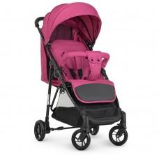 Детская Прогулочная Коляска Трость Bambi 5-ти точечные ремни, 3 положения спинки, 83х51х105 см, pink арт. 4249