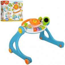 Детские музыкальные Ходунки каталка Win Fun с доской для рисования, со звук свет элементами арт. 0846