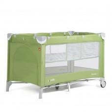 *Детский манеж с двойным дном и аксессуарами от Carello Piccolo, Sunny Green, размер 23х23х86 см арт. 9201
