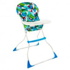 Детский Компактный Стульчик для кормления Цветная абстракция, съемный моющ. чехол, 71х64.5х107 см арт. LY 100*