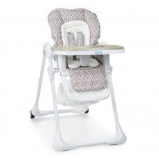 *Детский стульчик для кормления Bambi с пяти точечными ремнями, размер стульчика 33-60-120 см арт. 3890