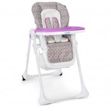 Детский стульчик для кормления от ТМ Bambi, узор-LAVENDER, размер стульчика 33-60-120 см арт. 3890