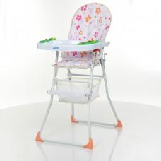 *Детский стульчик для кормления Bambi с музыкальной панелью, размер стульчика 48-65-103 см арт. 0404-2