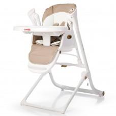 *Детский стульчик для кормления 3 в 1 (стульчик - шезлонг - качалка) от Carrello Triumph, Cocoa Brown арт. 10302