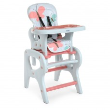 Детский Стульчик для кормления - 3 положения спинки 61х73х107см, трансформируется в стол и стул - Bambi Butterfly