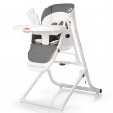 *Детский стульчик для кормления 3 в 1 (стульчик - шезлонг - качалка) от Carrello Triumph, Palette Grey арт. 10302