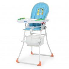 Детский  устойчивый стульчик для кормления от ТМ Bambi, трехточечные ремни, размер 48-65-103 смарт. 0404-1