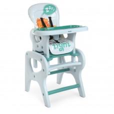 Детский Стульчик для кормления - 3 положения спинки 61х73х107см, трансформируется в столик со стулом - Bambi Lion