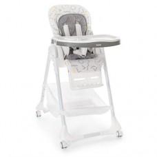Детский  устойчивый стульчик для кормления от ТМ Bambi, пятиточечные ремни, размер 54-81-108 см арт. 3822-2